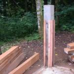 Horse bin construction 2
