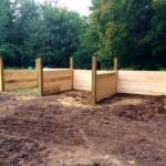 horse bin construction