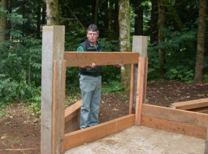 horse bin construction 3